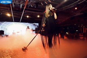 Taisia Gramm выступила на Новогоднем Корпоративе Продюсерского Центра «Star Time»